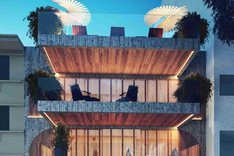 Capa Tríade tem projeto de arquitetura assinado pela Bassan Arquitetura e concepção artística da fachada e interiores proposta por Zanini de Zanine