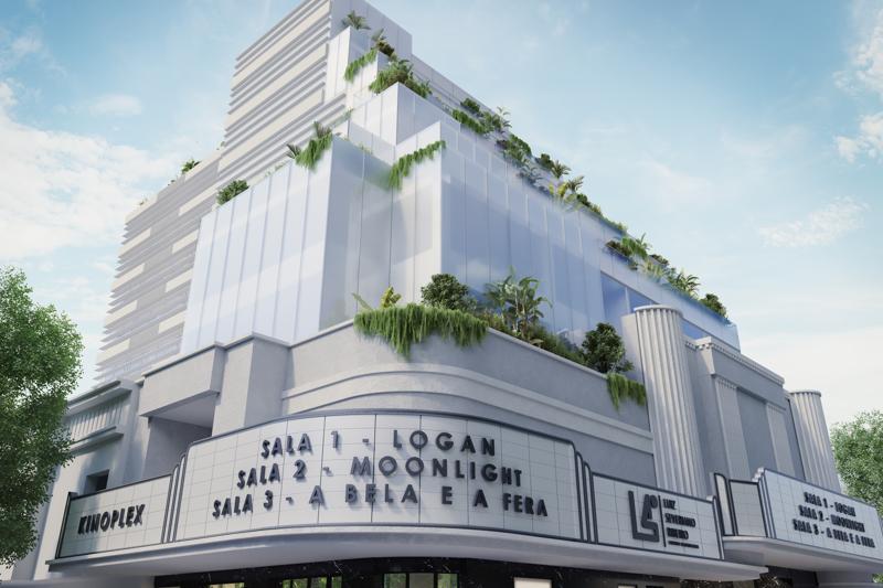 Capa Centro empresarial que abrigará Cine Leblon está em fase de estruturação